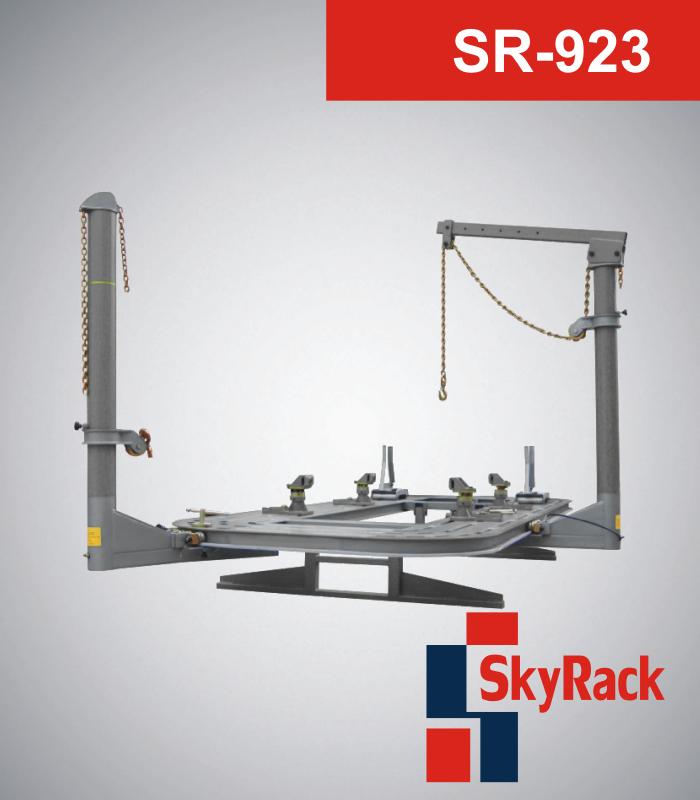 В Симферополе запущен рихтовочный центр, который оснащен оборудованием SkyRack