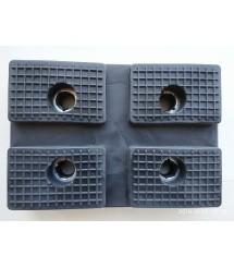 Накладка резиновая 27-0216 на захват автомобильного двухстоечного подъемника