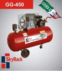 GG-450 Компрессор поршневой с ременной передачей (380В, ресивер 150 л)