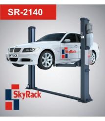 SR-2140 Автомобильный двухстоечный электрогидравлический подъемник