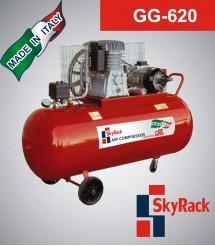 GG-620 Компрессор поршневой с ременной передачей (380В, ресивер 270 л)
