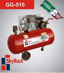 GG-510 Компрессор поршневой с ременной передачей (220В, ресивер 150 л)