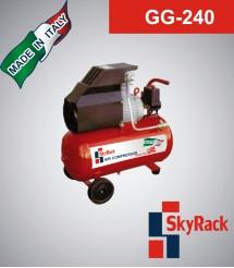 GG-240 Компрессор поршневой с прямым приводом (220В, ресивер 50 л)