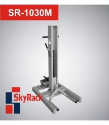 SR-1030M Автомобильный одностоечный подкатной пневмогидравлический подъемник