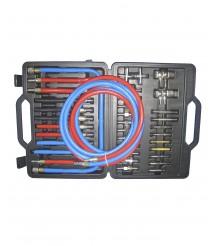 Комплект переходников 27-0092 для чистки форсунок и промывки инжектора без снятия для SR-5066, SR-5076