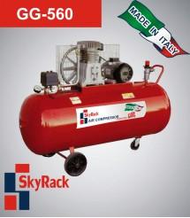 GG-560 Компрессор поршневой с ременной передачей (380В, ресивер 200 л)