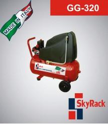 GG-320 Компрессор поршневой с прямым приводом (220В, ресивер 24 л)