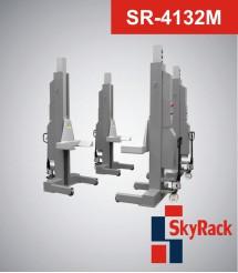 SR-4132M Автомобильный мобильный колонный электрогидравлический подъемник