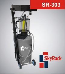 SR-303 Комбинированная установка для сбора и вакуумного отбора масла через отверстие щупа с предкамерой