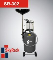 SR-302 Установка для сбора и вакуумного отбора масла через отверстие щупа с предкамерой