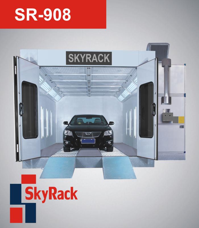 Окрасочно-сушильные камеры SkyRack